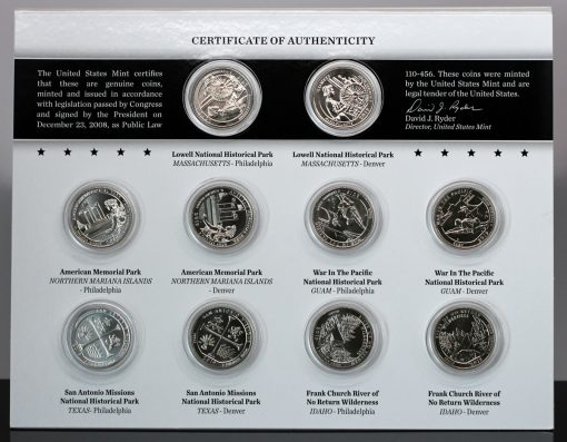 Photo of 2019 America the Beautiful Quarters Uncirculated Coin Set