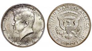 1964 Kennedy Half Dollar Sells for Record $108,000