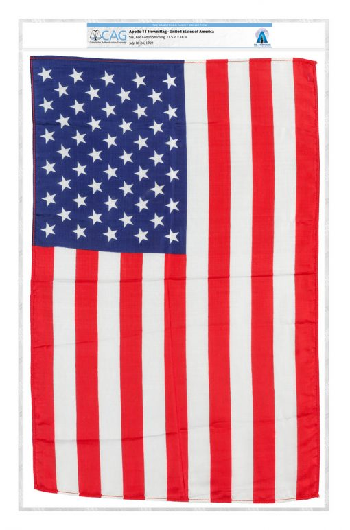 1969 Apollo 11 Flown Flag