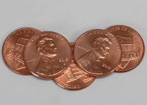 Penny Costs 2.06 Cents to Make in 2018