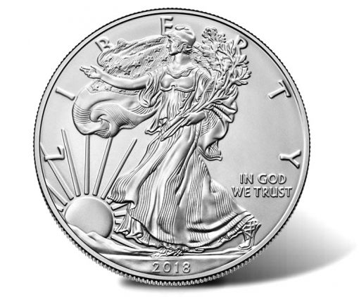 2019-W Uncirculated American Silver Eagle - Obverse