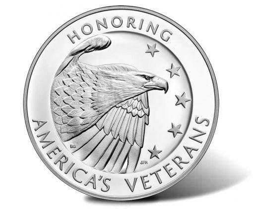American Veterans Silver Medal - Obverse