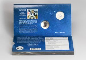 Apollo 11 Half Dollar Set Replacement Sleeve