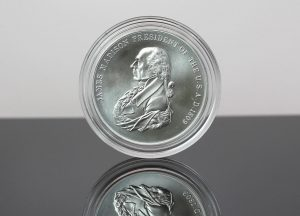 US Mint Sales: James Madison Silver Medal Debuts
