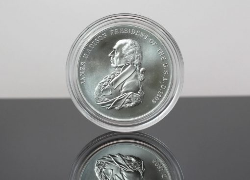 CoinNews photo James Madison Presidential Silver Medal