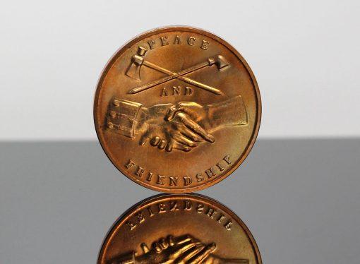 James Madison Presidential Bronze Medal - Reverse