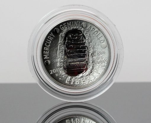 Photo 2019-S Proof Apollo 11 50th Anniversary Half Dollar - Obverse