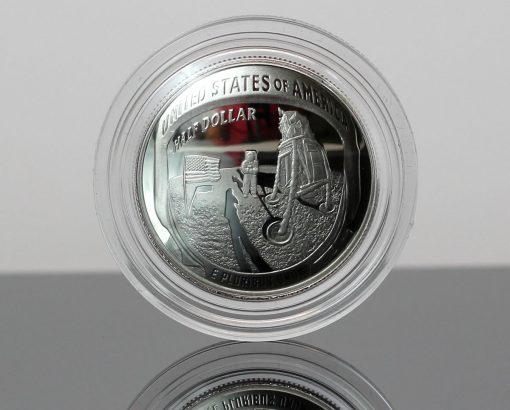 Photo 2019-S Proof Apollo 11 50th Anniversary Half Dollar - Reverse