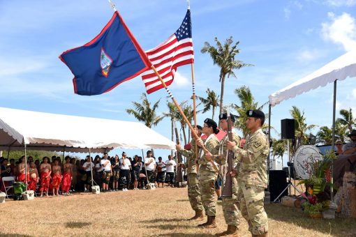 University of Guam Army ROTC Honor Guard