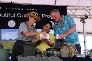 War in the Pacific Park Quarter Launch Ceremony Highlights