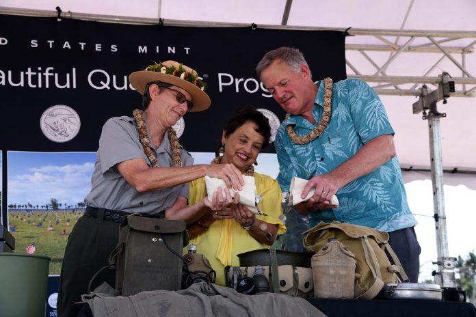 War in the Pacific Park Quarter Pour