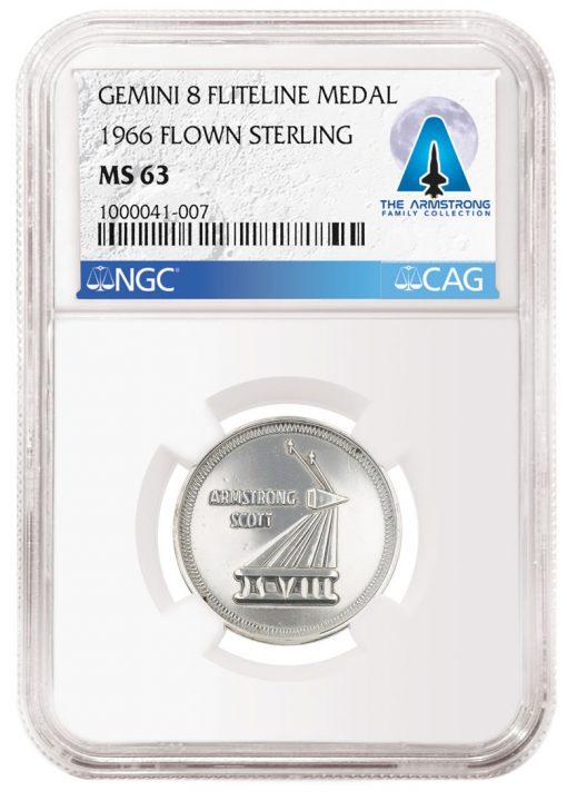 1966_FlownSterling_Gemini8_FlitelineMedal_MS63_1000041-007