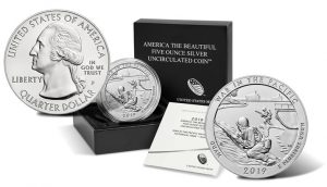2019-P War in the Pacific 5 Oz Silver Uncirculated Coin Released