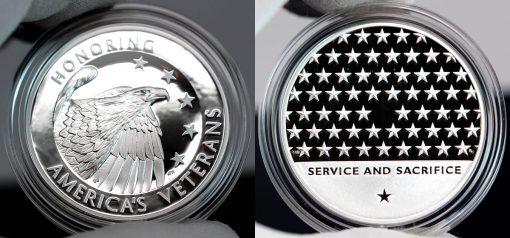 American Veterans Silver Medal