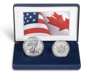 Coins and Case - Pride of Two Nations 2019 Limited Edition Two-Coin Set
