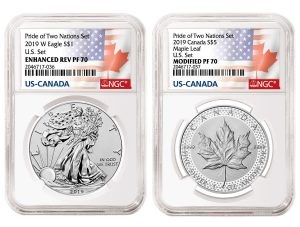 NGC Announces Unique Label for US-Canada 'Pride of Two Nations' Set