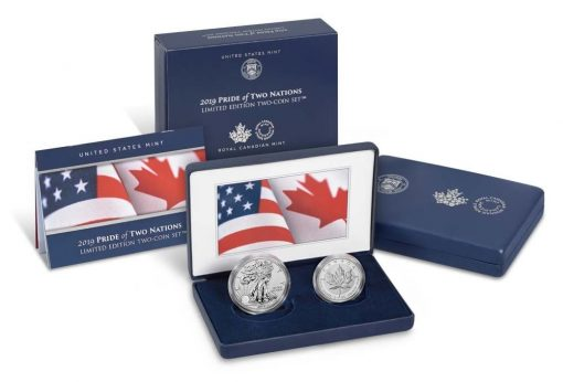 Packaging - Pride of Two Nations 2019 Limited Edition Two-Coin Set