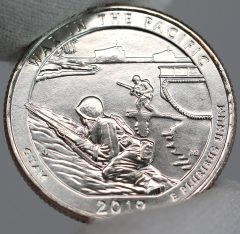 US Mint Sales: War In The Pacific Quarters and 5 Oz. Coin Debut