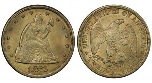 Stack's Bowers To Offer Rare 1876-CC Twenty-Cent Piece At ANA August Show