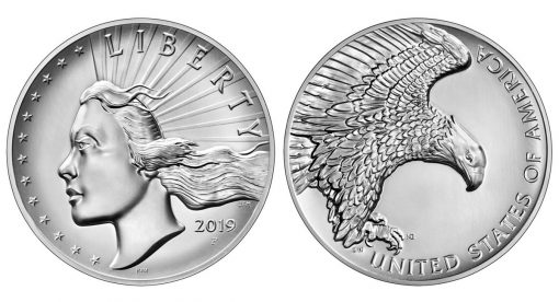 2019 American Liberty High Relief Silver Medal