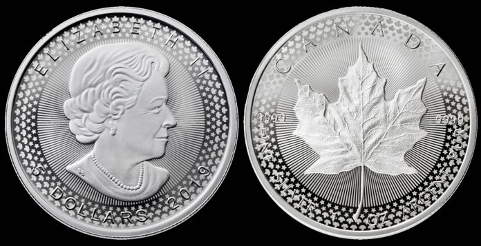 2019 Modified Proof Canadian Silver Maple Leaf