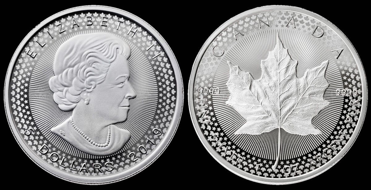2019 Pride of Two Nations $5 Maple Leaf and US Mint packaging ONLY