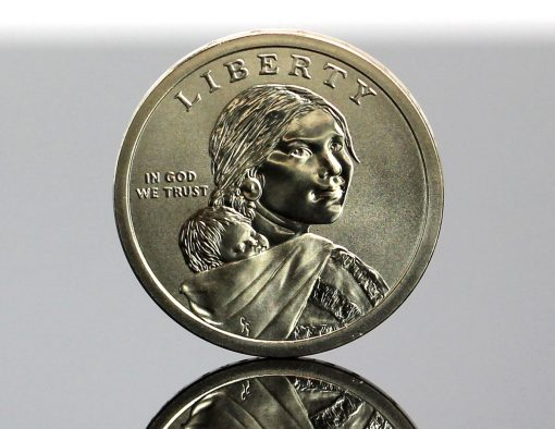 2019-P Enhanced Uncirculated Native American $1 Coin - Obverse,b