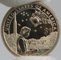 2019-P Enhanced Uncirculated Native American $1 Coin - Reverse,a