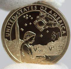 2019-P Enhanced Uncirculated Native American $1 Coin - Reverse,b