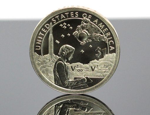 2019-P Enhanced Uncirculated Native American $1 Coin - Reverse,d