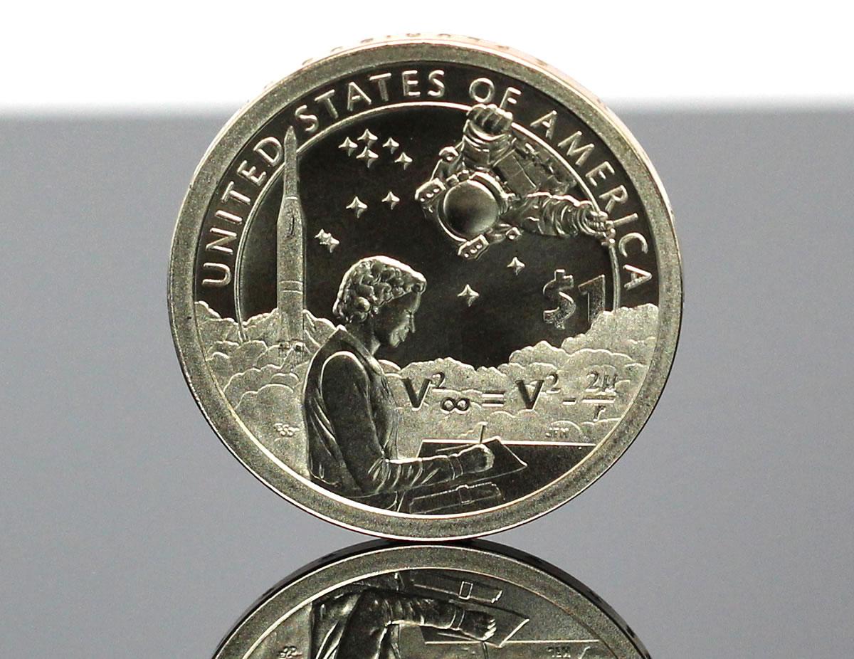 2019 P Sacagawea Native American Space Program $1 Coin Uncirculated