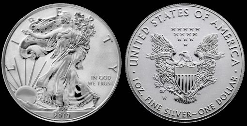 2019-W Enhanced Reverse Proof American Silver Eagle