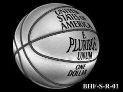 Reverse 2020 Basketball Coin Design Candidate BHF-S-R-01