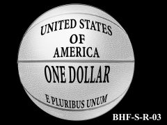 Reverse 2020 Basketball Coin Design Candidate BHF-S-R-03