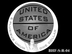 Reverse 2020 Basketball Coin Design Candidate BHF-S-R-04