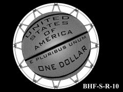 Reverse 2020 Basketball Coin Design Candidate BHF-S-R-10
