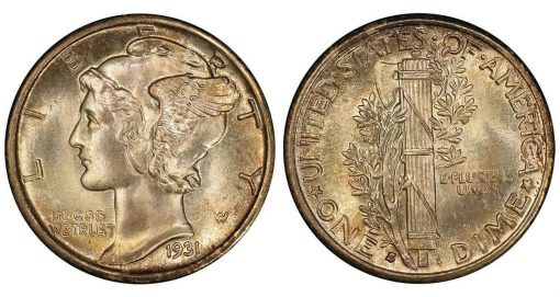 lot 211, a 1931-S in PCGS MS67+ FB CAC