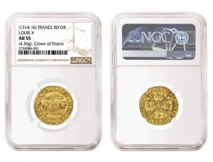 NGC-Graded 700-Old French Coin At August 2019 ANA Show