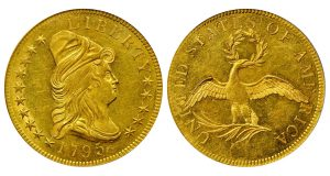 Taraszka Collection of 1795-1804 $10 Gold Eagles Tops $3.2M in Stack's Bowers Auction