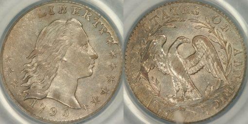1795 Half Cent PCGS MS61