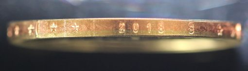 2018-S Proof American Innovation $1 Coin - photo of edge