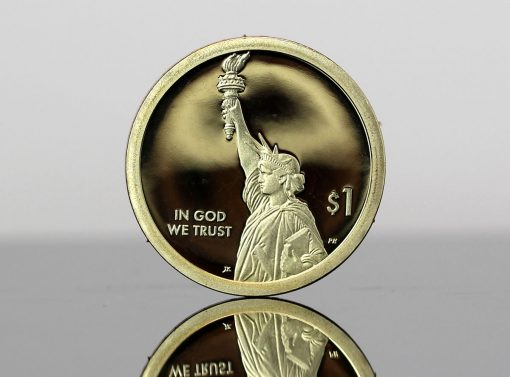 2018-S Proof American Innovation $1 Coin - photo of obverse