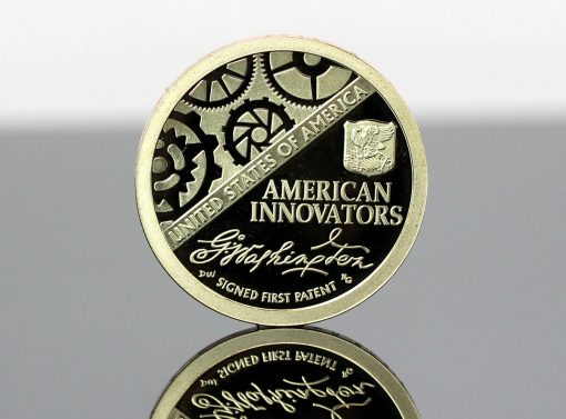2018-S Proof American Innovation $1 Coin - photo of reverse