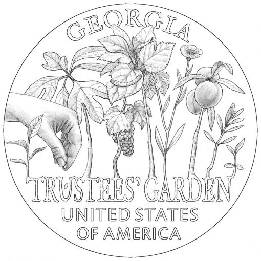 2019 American Innovation Dollar Design for Georgia