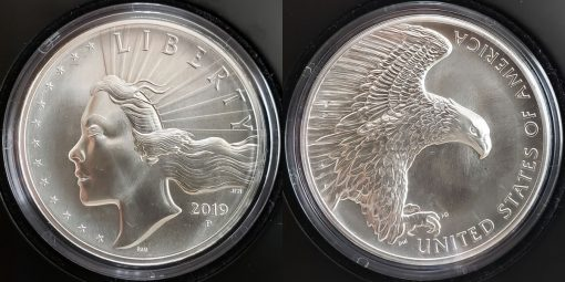 2019-P American Liberty 2.5 oz. Silver Medal