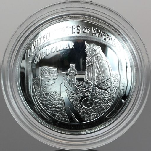 2019-P Proof Apollo 11 50th Anniversary Silver Dollar