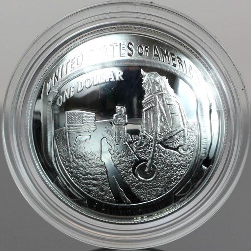 2019-P Proof Apollo 11 50th Anniversary Silver Dollar