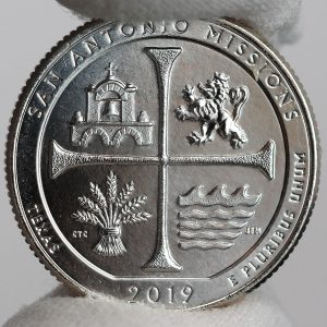 2019-P Uncirculated San Antonio Missions National Historical Park quarter