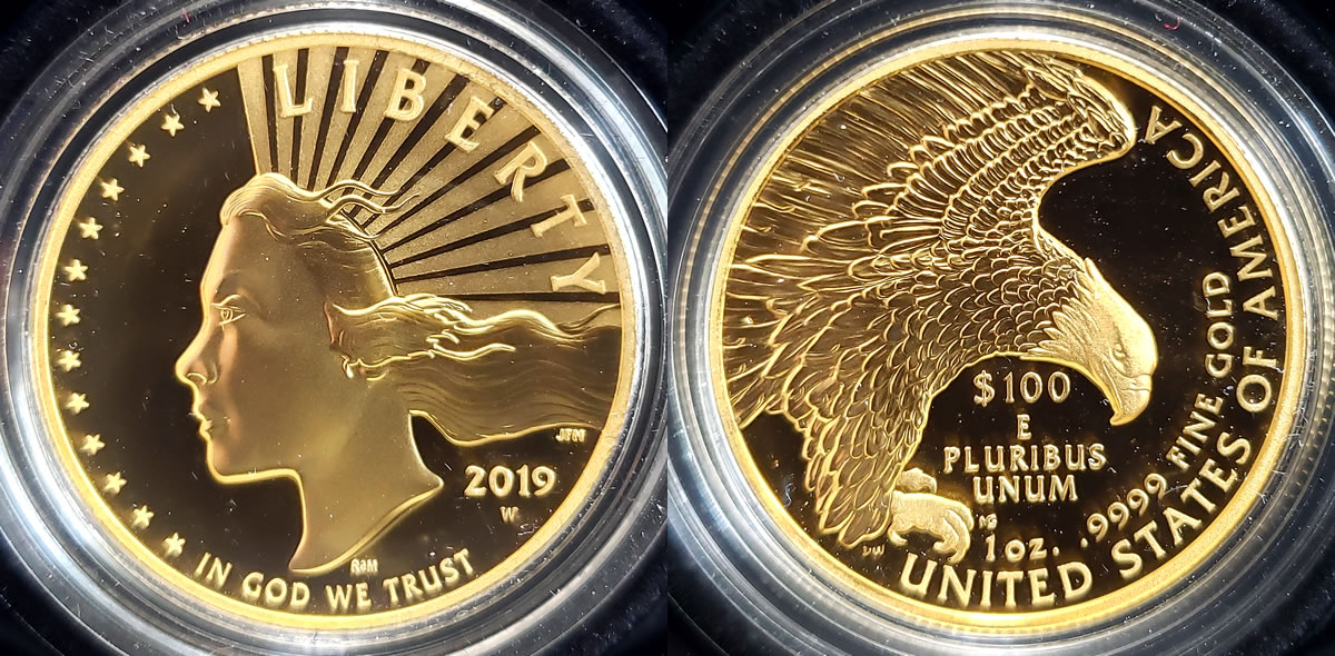 Prices Of 2020 Numismatic Gold Coins