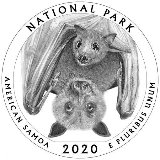 2020 National Park of American Samoa Quarter and 5oz Coin Design